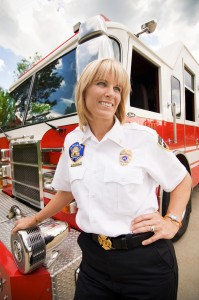 Martha Ellis, Salt Lake City's first female Battalion Chief