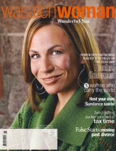 Cover, Wasatch Woman Magazine, Jan/Feb 2009