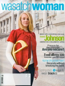 Cover, Wasatch Woman Magazine, Mar/Apr 2009
