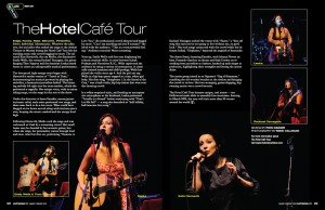 Article, Hotel Cafe Tour, Wasatch Woman Magazine, Jan/Feb 2009