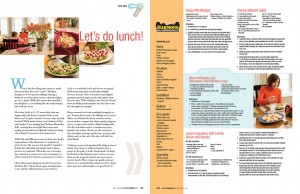 Article, Good Food, Wasatch Woman Magazine, May/Jun 2009