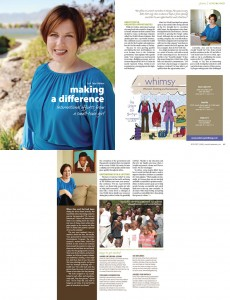 Article, Ann Norman Cole, Wasatch Woman Magazine, Nov/Dec 2008