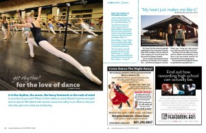 Article, Love of Dance, Wasatch Woman Magazine, Nov/Dec 2008