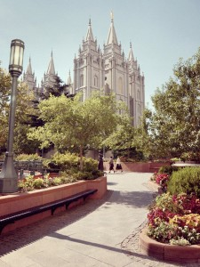 Salt Lake Temple, Salt Lake City, UT